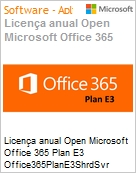 MICROSOFT Office 365 Plan E3 Open Shared Server [Q